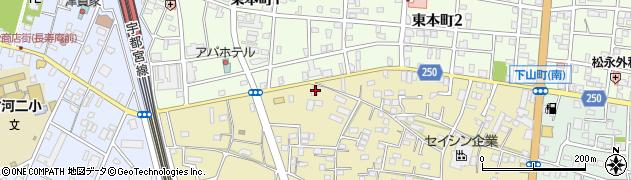 栗原木材株式会社周辺の地図