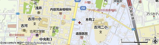 瓜生製作株式会社 北関東営業所周辺の地図