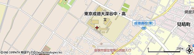 成徳 大学 高等 学校 深谷 東京