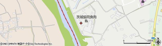 茨城協同食肉株式会社 下妻事業所周辺の地図
