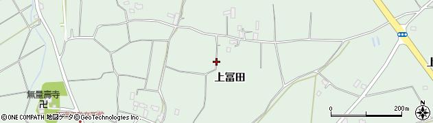茨城県鉾田市下冨田周辺の地図