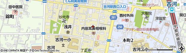 日本キリスト教会古河伝道所周辺の地図