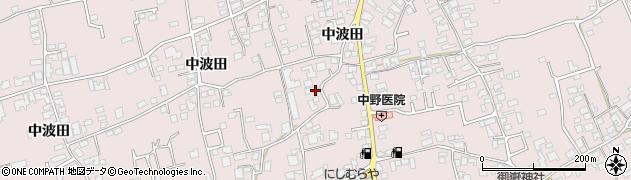 長野県松本市波田(古城)周辺の地図