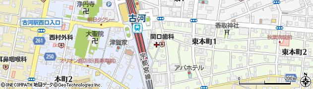 のじまミシン商会周辺の地図