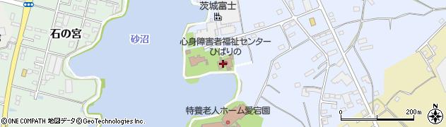下妻市 福祉センター砂沼荘周辺の地図