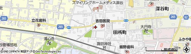 呑龍院周辺の地図