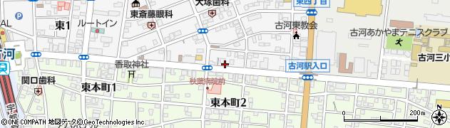 十間通り周辺の地図