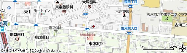 イオスホーム古河店周辺の地図