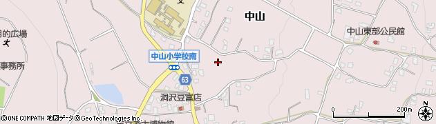 長野県松本市中山(埴原北)周辺の地図