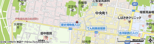 有限会社大高油店 本社周辺の地図