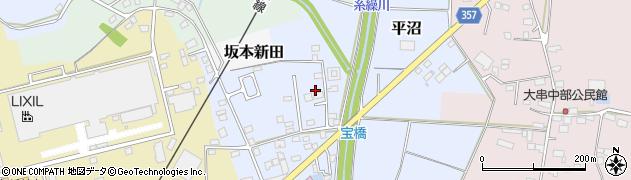 茨城県下妻市平沼周辺の地図
