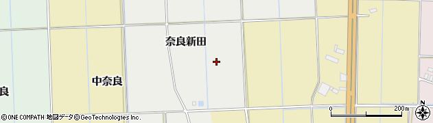 埼玉県熊谷市奈良新田周辺の地図