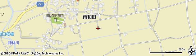 長野県松本市和田(南和田)周辺の地図