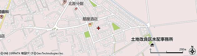 長野県松本市波田(北原)周辺の地図