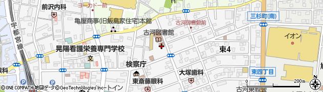 古河公共職業安定所周辺の地図