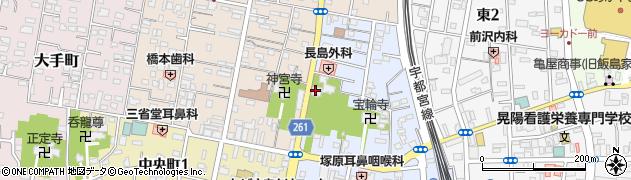 尊勝院周辺の地図