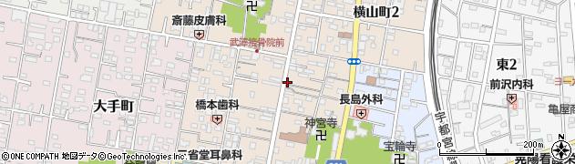 宝クリーニング店周辺の地図