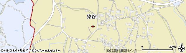 茨城県石岡市染谷周辺の地図