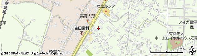 石岡地区通運株式会社 本社周辺の地図