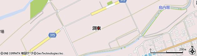 長野県松本市波田(渕東)周辺の地図