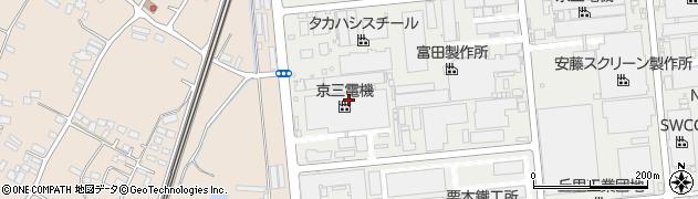 京三電機株式会社 本社・第一工場周辺の地図