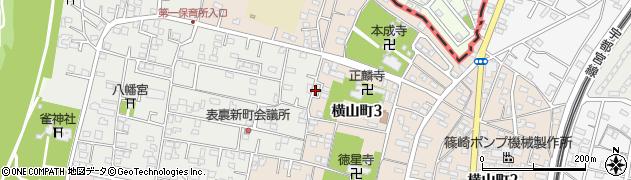 石塚工務店周辺の地図