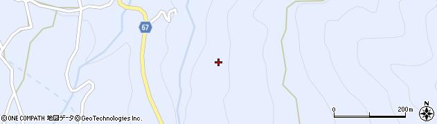 長野県松本市入山辺(牛立)周辺の地図