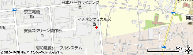 株式会社タイホーコーザイ 関東工場周辺の地図