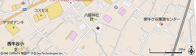 京三テックス株式会社周辺の地図