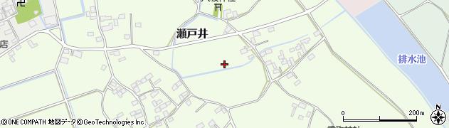 茨城県八千代町(結城郡)瀬戸井周辺の地図