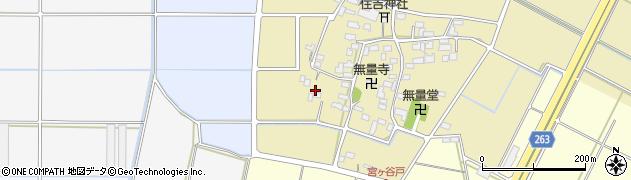 埼玉県深谷市宮ケ谷戸周辺の地図