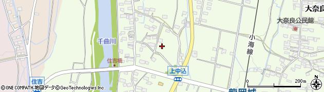長野県佐久市田口(上中込)周辺の地図