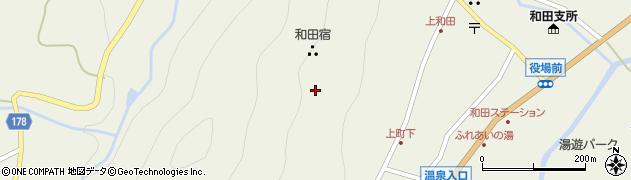 長野県小県郡長和町和田上町周辺の地図