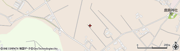 茨城県鉾田市常磐周辺の地図