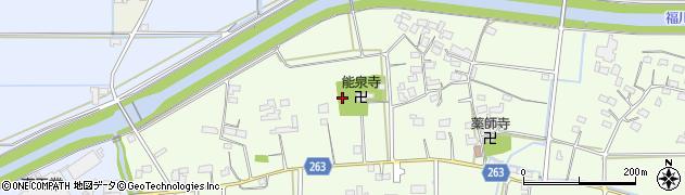 埼玉県熊谷市上江袋周辺の地図