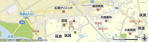 有限会社筑波物産周辺の地図