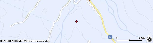 長野県松本市入山辺(大仏)周辺の地図