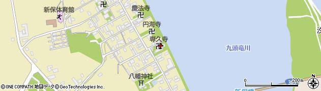 専久寺周辺の地図
