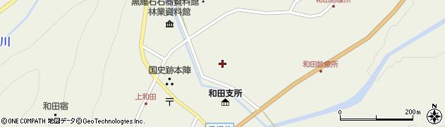 長野県小県郡長和町和田橋場周辺の地図