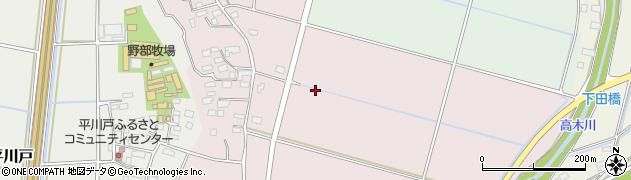 茨城県下妻市筑波島周辺の地図