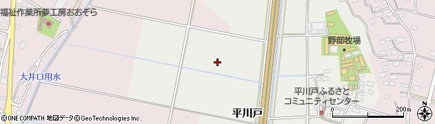 茨城県下妻市平川戸周辺の地図