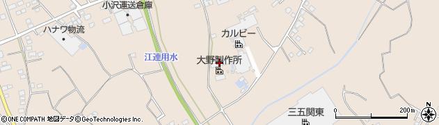 大野製作所周辺の地図