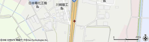 茨城県古河市下片田周辺の地図