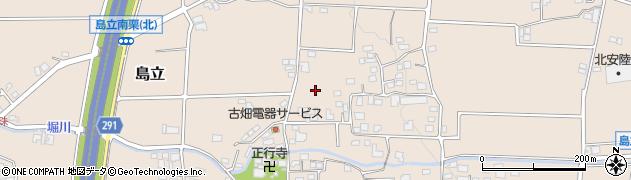 長野県松本市島立(南栗)周辺の地図