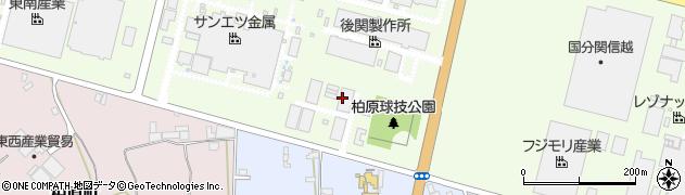 茨城三和化工株式会社周辺の地図