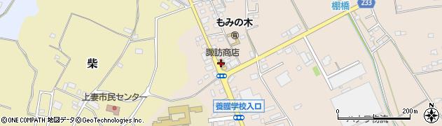 有限会社諏訪商店周辺の地図