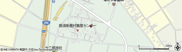 茨城県下妻市数須周辺の地図