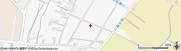 栃木県野木町(下都賀郡)中谷周辺の地図