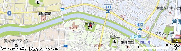 善蓮寺周辺の地図