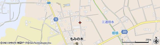 茨城県下妻市半谷周辺の地図